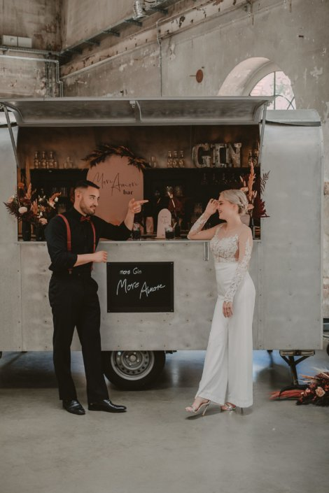 Mobile Bar für Hochzeit Köln