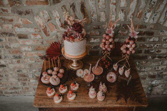 Sweet Table Urban Industrial Hochzeit