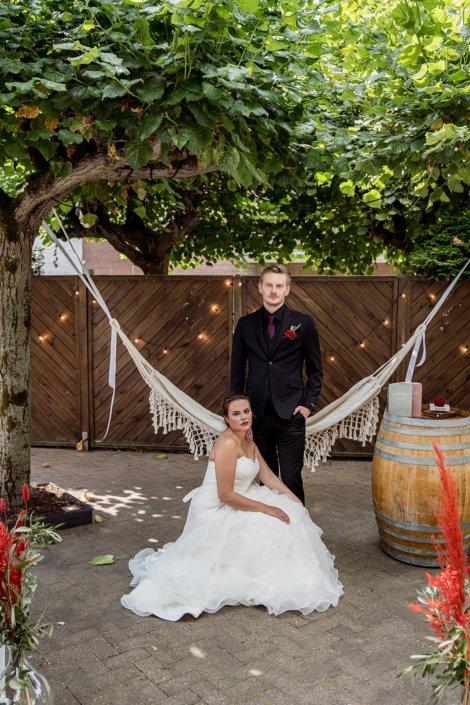 Flamenco Hochzeit Brautpaar