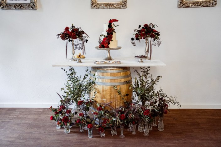 Sweet Table Flamenco Hochzeit