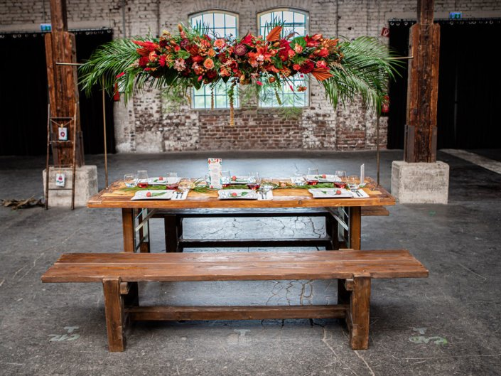 Tropical Vibes Tischdekoration